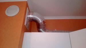 Гофра для вытяжки выбор гофрированной трубы для вентиляции