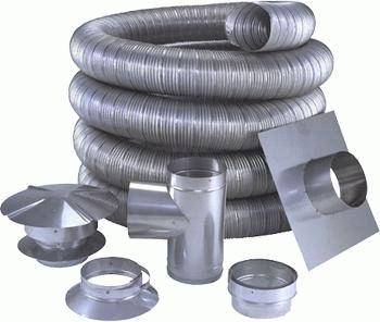 монтаж газовых дымоходов из нержавеющей стали