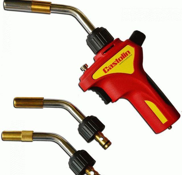 Газовая горелка для пайки медных труб — обзор лучших 👷