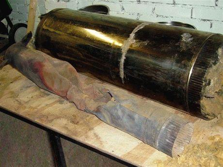 Чем утеплять дымоход из стальной трубы