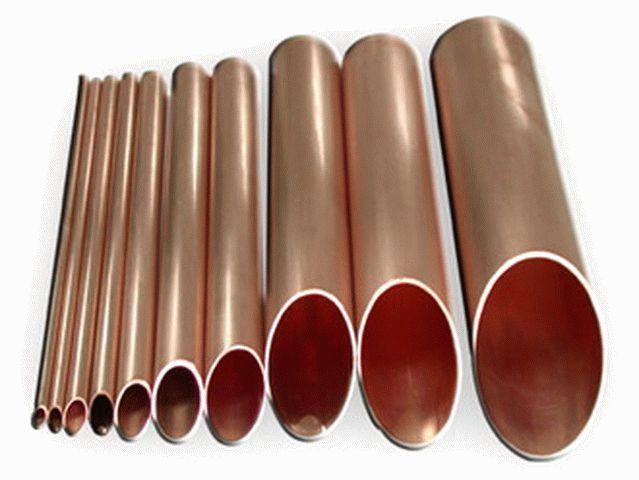 Медные трубы для отопления и фитинги
