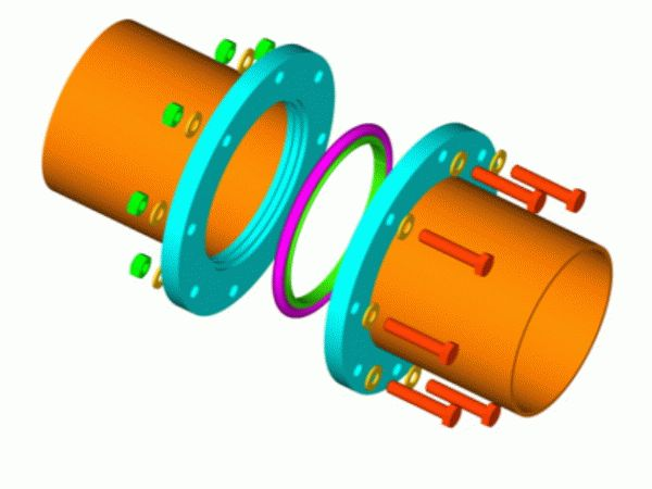 Как соединить трубы дымохода одного диаметра