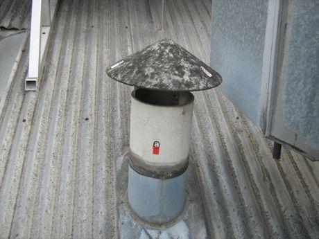 Асбест для изоляции дымохода